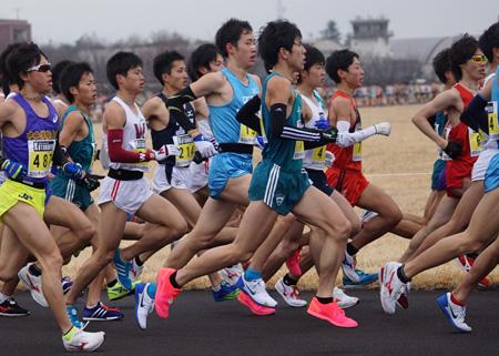 マラソン ハーフ 日本 学生